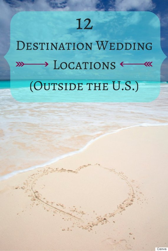 The best destination wedding locations to choose for 2016 for Good destination wedding locations