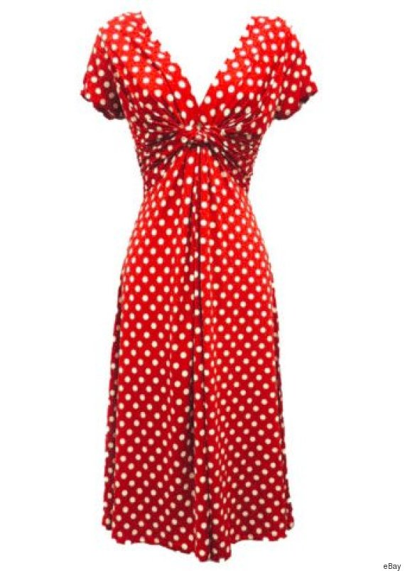 vintage pin up dress