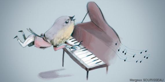 pianiste centre commercial