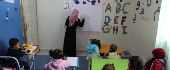 TURKEY REFUGEES CHILDREN EDUCATION