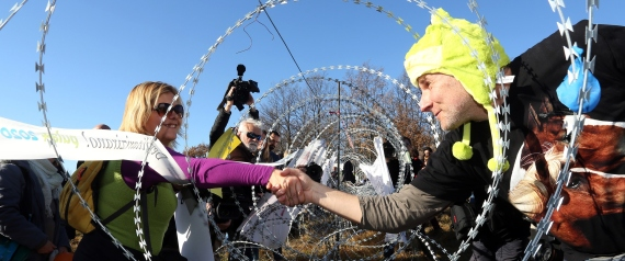 BARBED WIRE AND REFUGEES