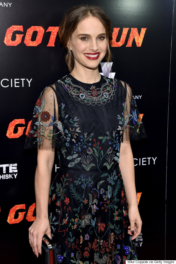 Natalie Portman Dons Valentino Gown With Metis Design At