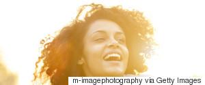 BLACK WOMAN HAPPY