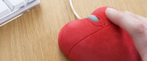 Love Online Mouse Heart
