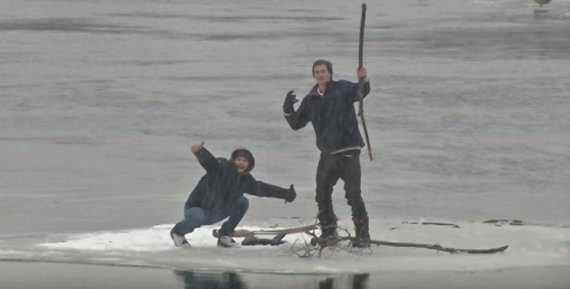 ontario ice floe
