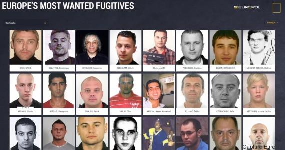 criminels les plus recherches