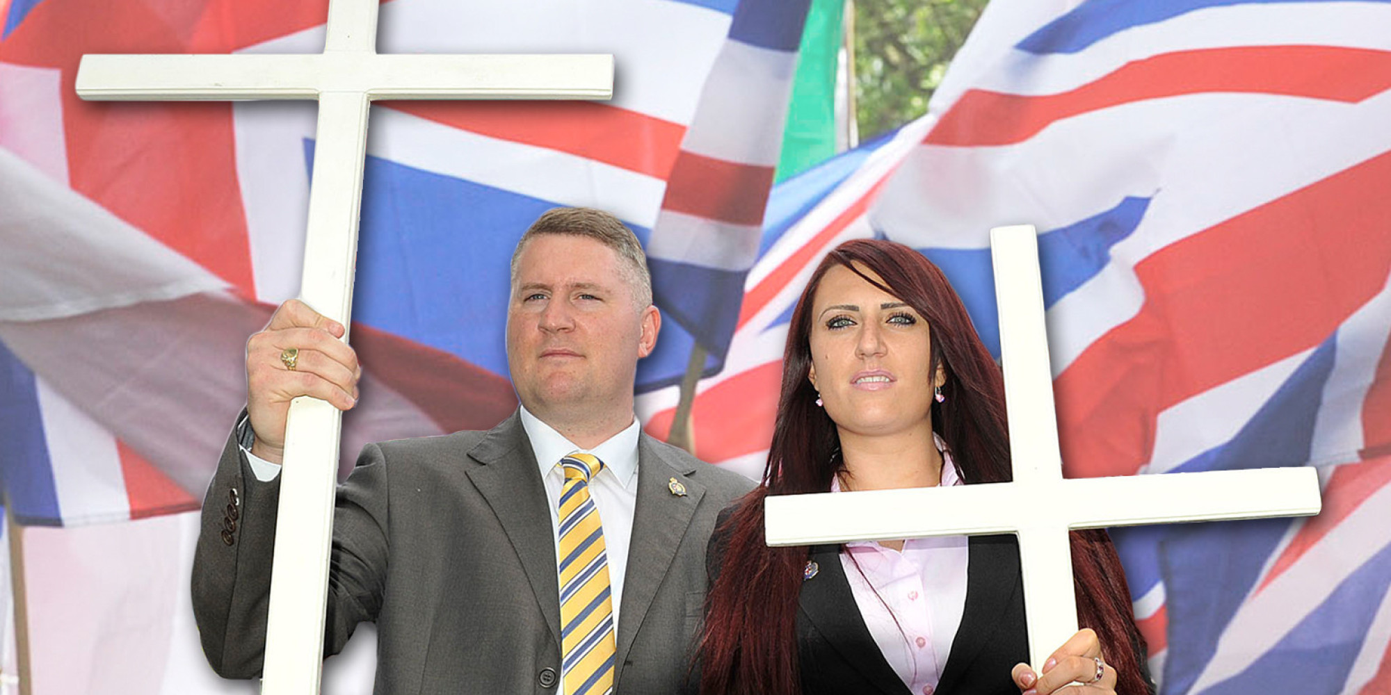 Image result for Britain First with bibles