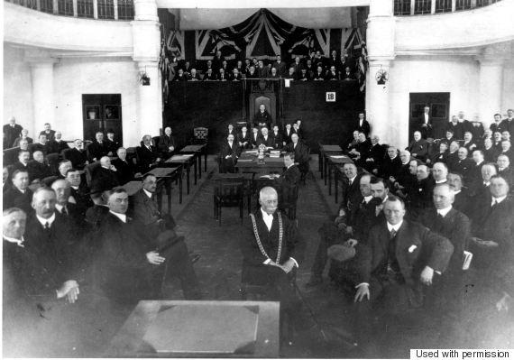 parliament fire 1916