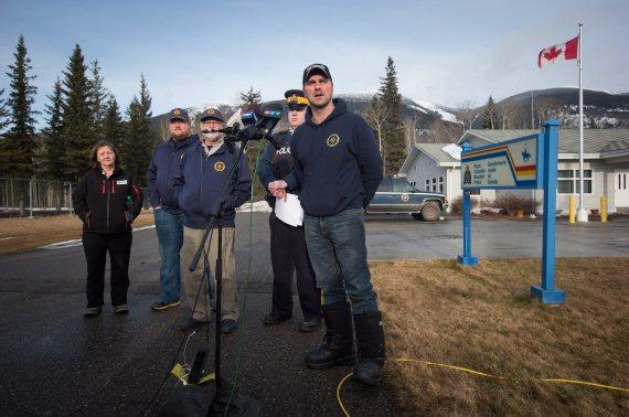 mcbride avalanche rescue crew