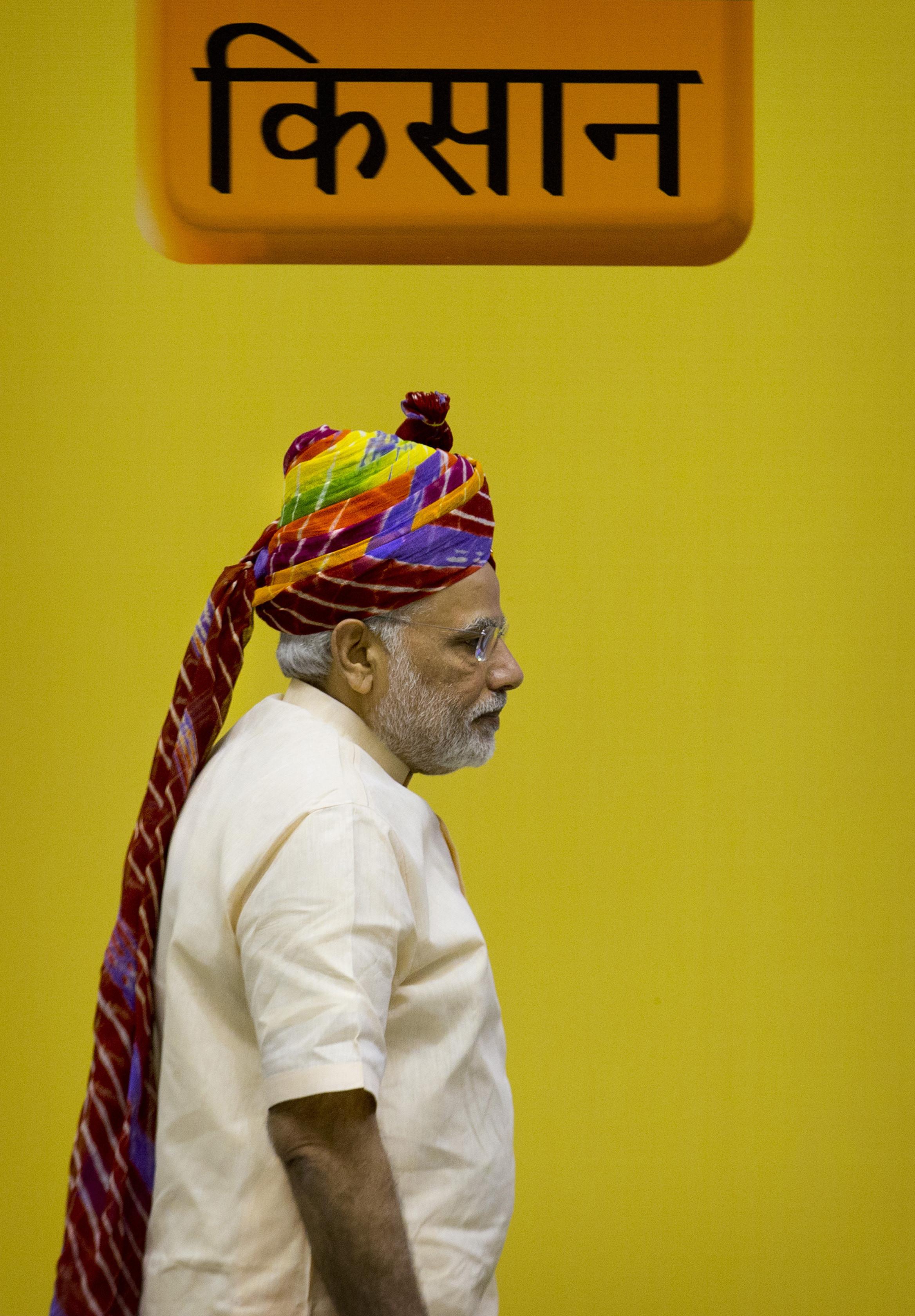 narendra modi farmers