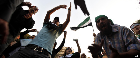 SYRIA MASSIVE PROTESTS