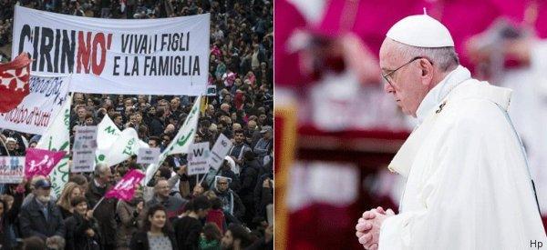 Il grande freddo tra Francesco, il Family Day e i vescovi