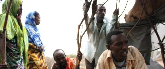 DROUGHT HITS ETHIOPIA