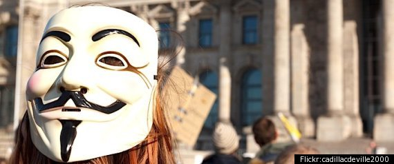 OCCUPY WALL STREET VENDETTA MASK