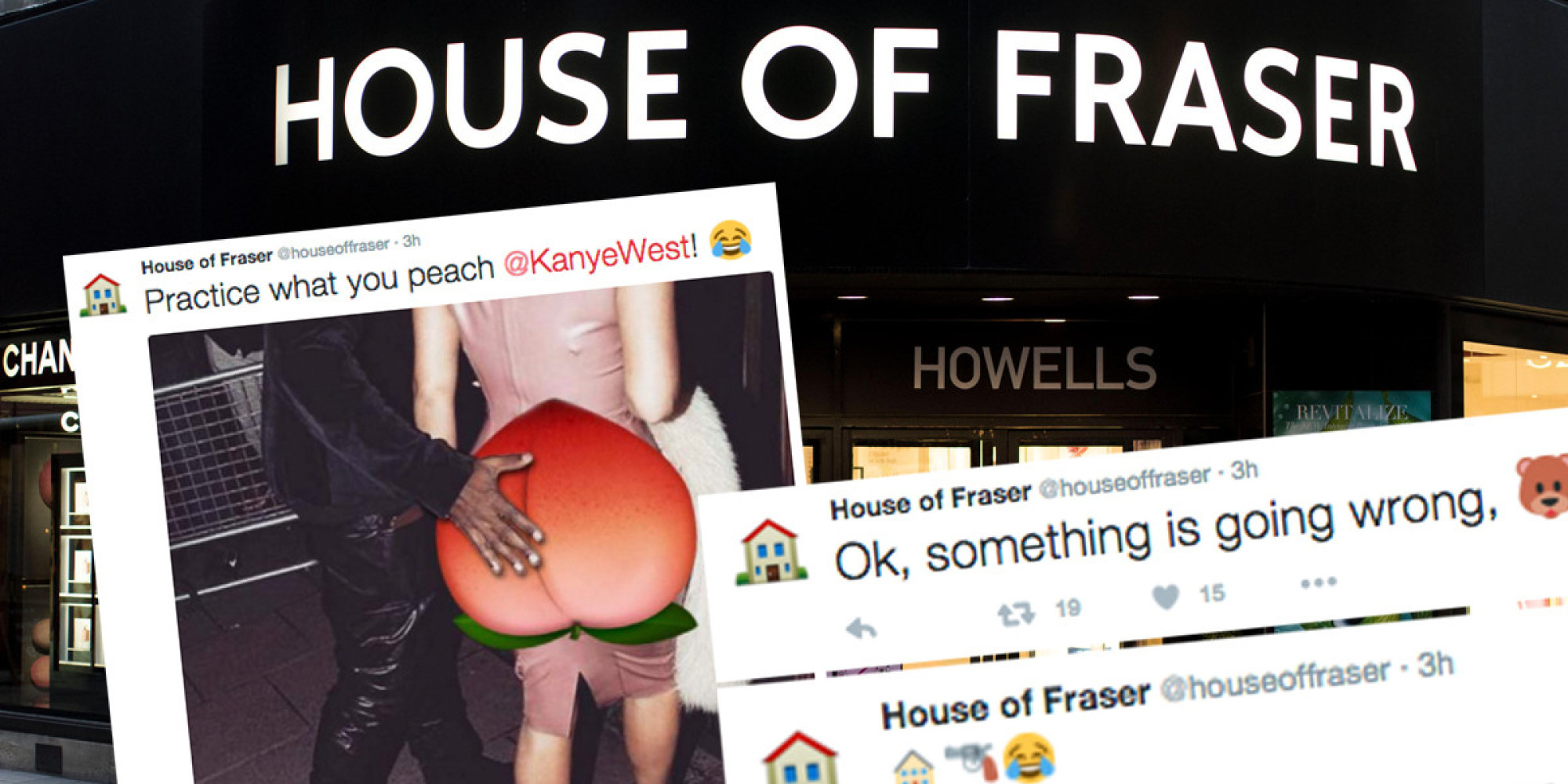 House of fraser twitter account 39 s 39 emojinal 39 campaign for Housse of frazer