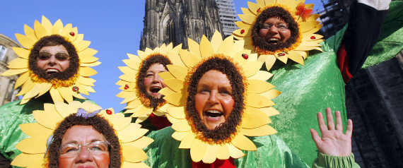 WOMENS CARNIVAL IN COLOGNE