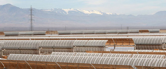 THE LARGEST SOLAR POWER STATION IN MOROCCO