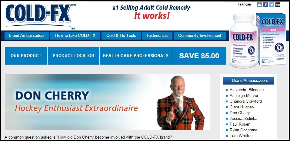 cold fx don cherry