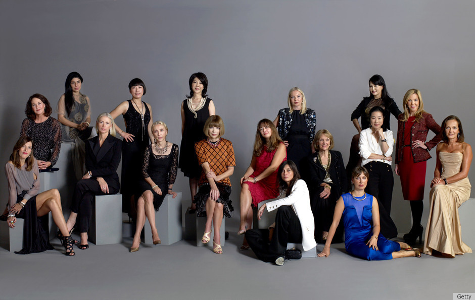 Vogue Editors Pose For An Iconic Photo No Black Editors To Be Found Huffpost
