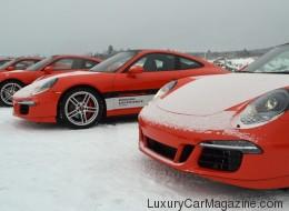 Porsche Camp4 Canada : un party sur la glace (PHOTOS)