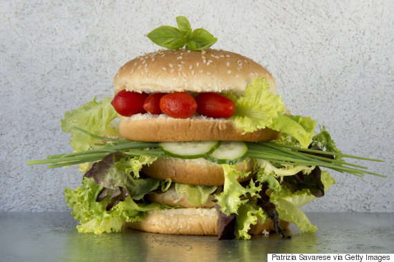 healthy burger