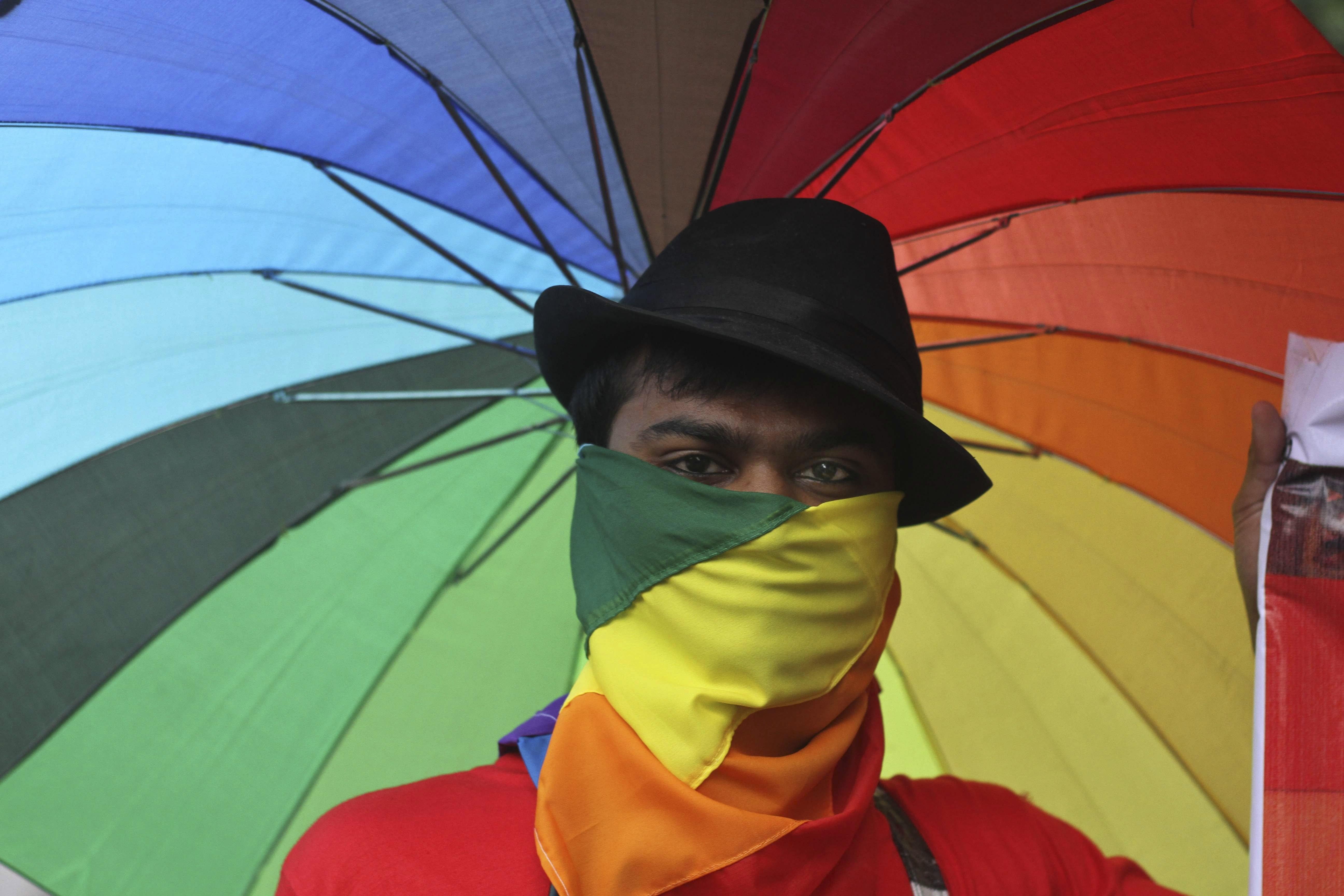 india lgbt rainbow