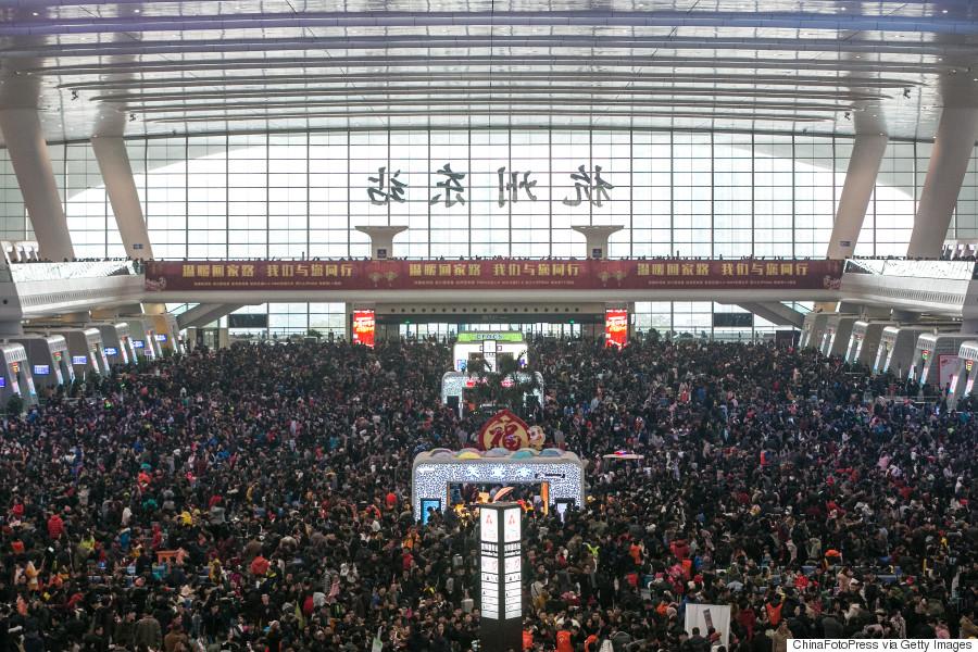 china train station