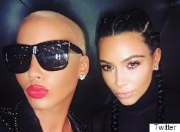 This Snap Of Kim And Amber Is Sending Twitter Into Overdrive