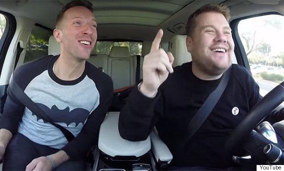 Car James Drives In Carpool Karoke