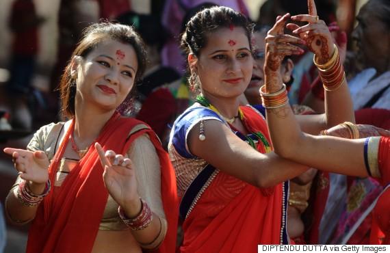 hindú feliz