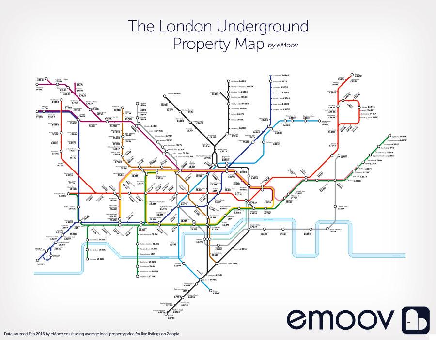 house tube map