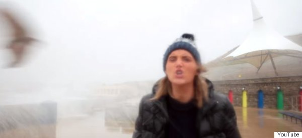 There's Salmon Fishy About This Vlogger's Face-Slap Video