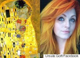 Cette coloriste transforme des oeuvres d'art en couleurs de cheveux (PHOTOS)