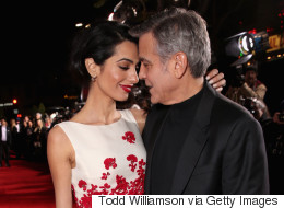 Amal And George Clooney Steal The Show At 'Hail, Caesar!' Premiere