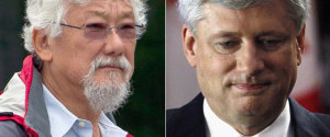 DAVID SUZUKI STEPHEN HARPER