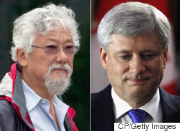 Suzuki: Harper Should Be Jailed For His Climate Positions