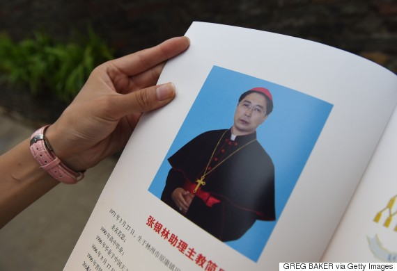 china bishop catholic