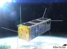 Students Prepare To Launch First Alberta-Made Satellite Into Space