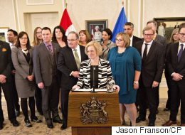 Alberta Premier Adds 6 New Faces To Cabinet
