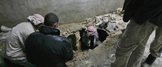 THE COLLAPSE OF THE TUNNELS IN GAZA