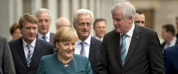 HORST SEEHOFER PRIME MINISTER OF BAVARIA