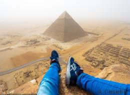 La fois où j'ai failli me faire arrêter pour avoir escaladé la pyramide de Khéops