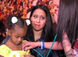 Elle rencontre la fillette qui a reçu le cœur de son bébé (VIDÉO)