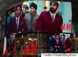 H&M Billboard In NYC Features Sikh Models In Turbans