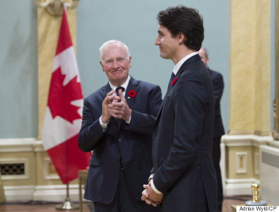 justin trudeau david johnston