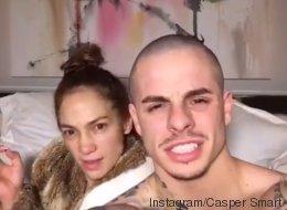 La très étrange vidéo de Jennifer Lopez avec son amoureux (VIDÉO)