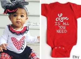 17 Cutest Valentine's Day Onesies For Your Love Bug