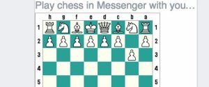 FACEBOOK MESSENGER CHESS
