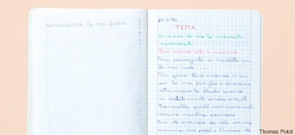 Questi 10 quaderni raccontano le emozioni di un'Italia lontana