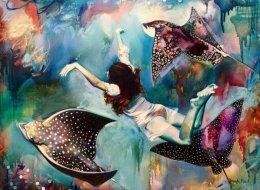 Cette artiste de 16 ans peint ses rêves et le résultat est fascinant (PHOTOS)